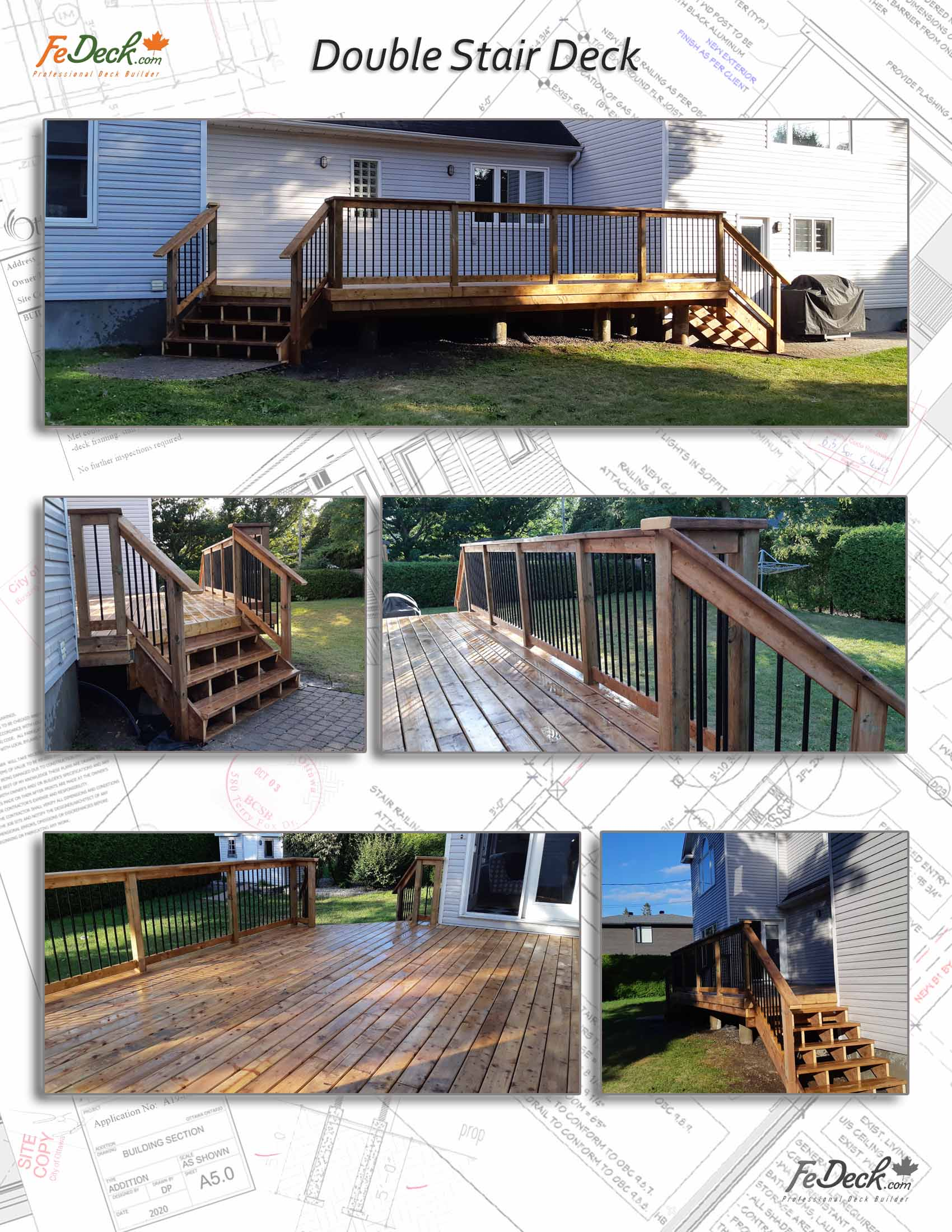 Double Stair Decks