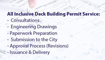 Deck Building Permit Drawings Service Ottawa 2